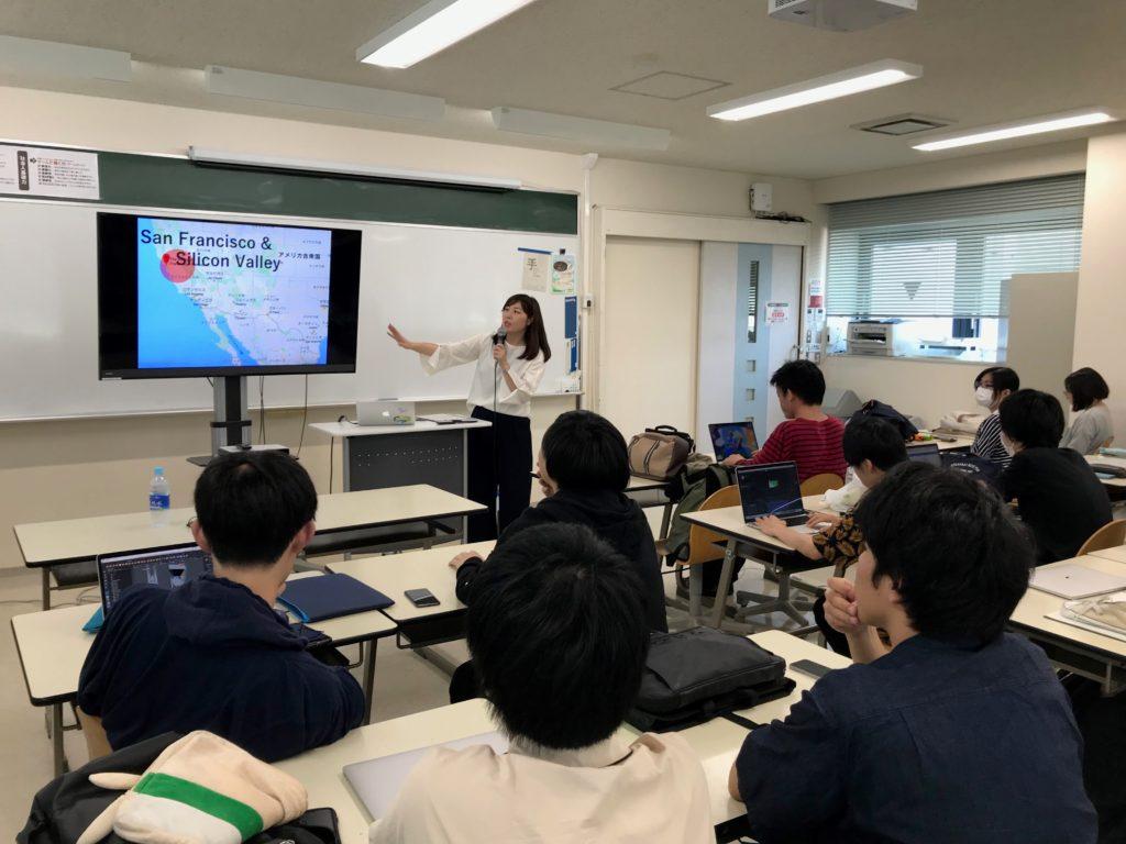 静岡デザイン専門学校でマーケティング実践論
